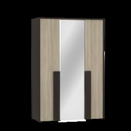 """Шкаф трехдверный с зеркалом """"Сильвия"""""""