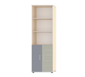 """Шкаф для книг с двумя дверьми """"Джуниор"""" Лаванда"""