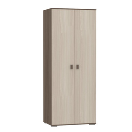 Шкаф для одежды «Олимп» Ясень Шимо светлый, Ясень Шимо темный