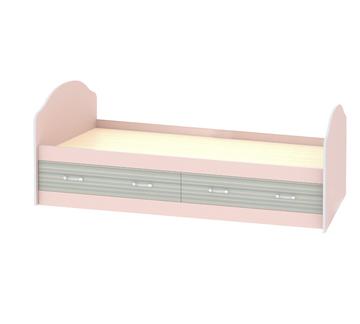 Кровать детская «ДЖУНИОР» с ящиками (цвет - Ирис /Модерн)