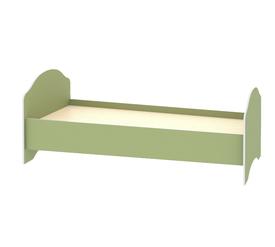 Кровать детская «ДЖУНИОР» (цвет - Зеленый/Модерн)