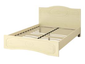 Кровать «ОСКАР» двуспальная 1400 (цвет - Клен/Липа Светлана)