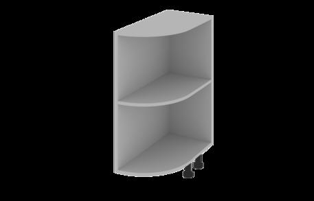 Завершающий элемент нижний открытый радиусный (правый)