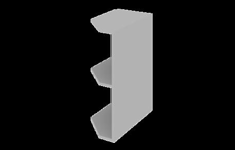 Завершающий элемент нижний открытый (левый)