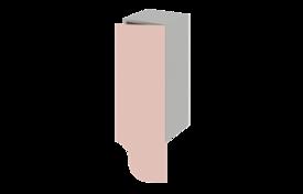 Шкаф высокий переходной 300  (правый)