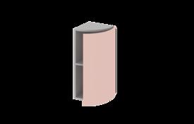 Шкаф завершающий средний  радиусный