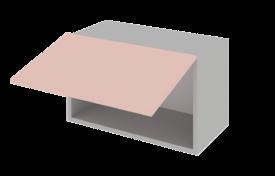 Шкаф низкий горизонтальный 500 h=360