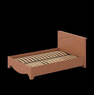 Кровать «ГАЛА» двуспальная 1400 (цвет - Роял Вуд терракот, Антрацит)