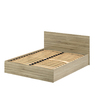 Кровать «ЛАЙТ» двуспальная с подъемным механизмом  1400 (цвет - Дуб Сонома светлый)