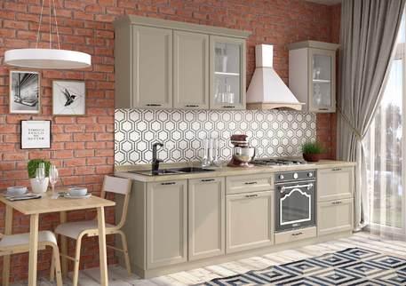Кухня «БЕВЕРЛИ» (цвет фасадов - риолит)