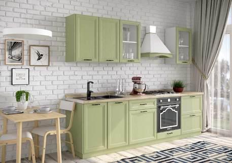 Кухня «БЕВЕРЛИ» (цвет - оливковое дерево)