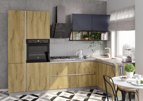Кухня «СИТИ» (цвет-дуб грэндсан, океания)