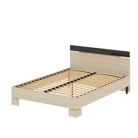Кровать «САВУ» двуспальная 1400 (цвет – Ясень шимо светлый)