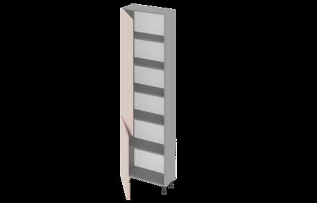 Пенал высокий 600 без ниши одностворчатый
