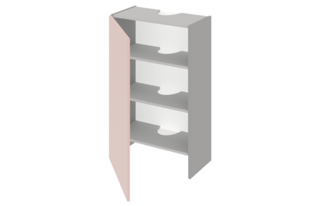 Шкаф высокий над вытяжкой 500 ЕВРОДОМ
