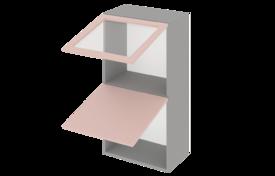 Шкаф высокий 800 горизонтальный 1 дв. ст. 1дв. гл.