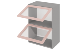 Шкаф средний 800 горизонтальный 2 дв. ст.
