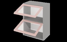 Шкаф средний 900 горизонтальный 2 дв. ст.