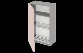Шкаф высокий 600 одностворч. под сушилку