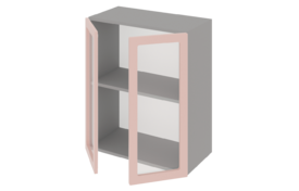 Шкаф средний 800 со стеклом