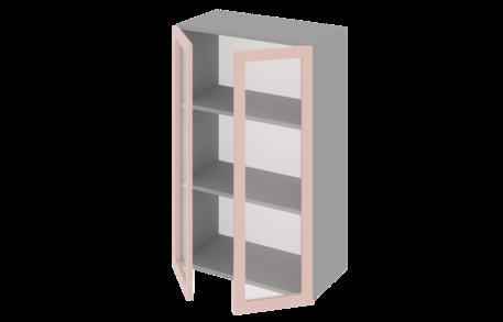 Шкаф высокий 800 со стеклом