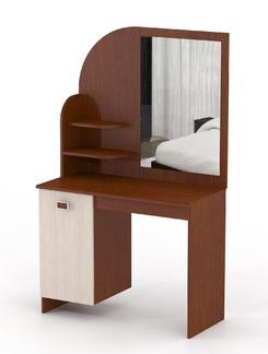 Столик туалетный новый Млечный дуб/Орех